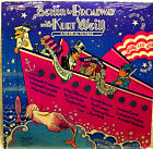 BERLIN TO BROADWAY  With  Kurt Weil  Vinyl 2 Lp Set Orig Cast  NM Play Graded