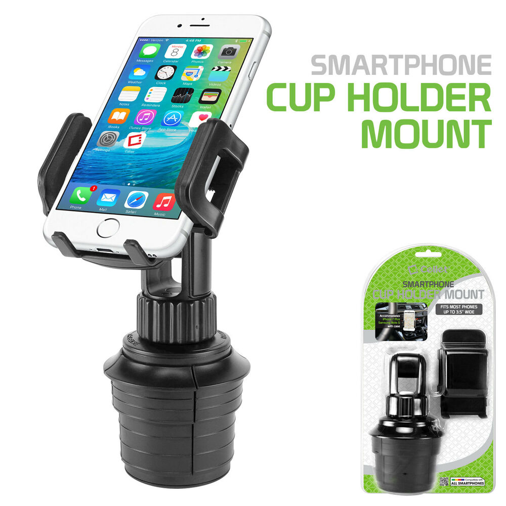 cellet universal vehicle cup holder car mount for cell