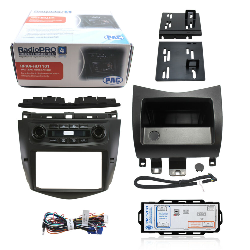 RPK4-HD1101 Complete Aftermarket Car Stereo Dash Kit for 2003-2007