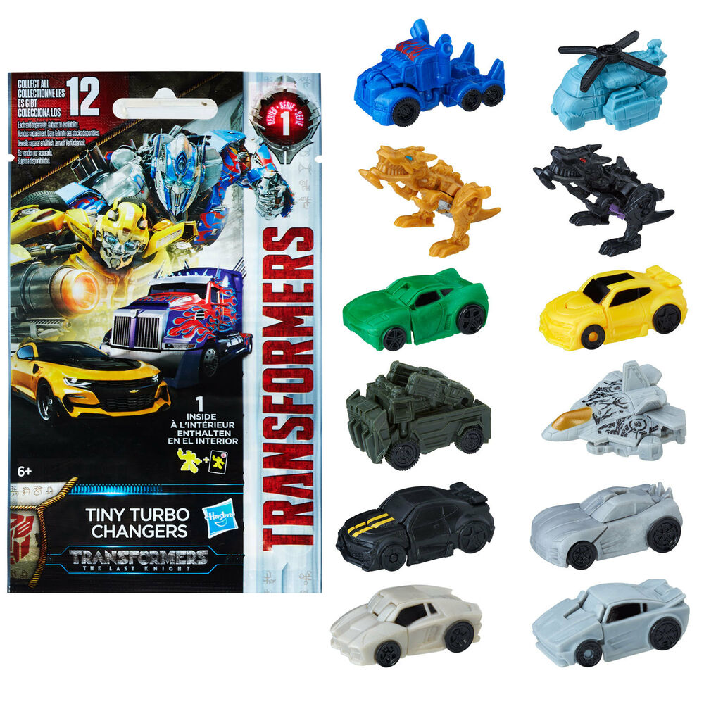 Transformers The Last Knight Tiny Turbo Changers Blind Bag