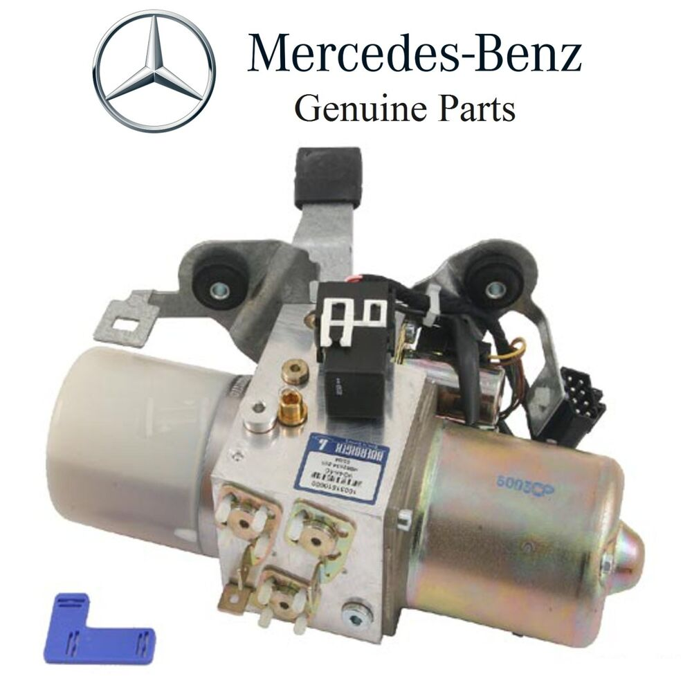 Mercedes R170 Slk230 Hydraulic Pump For Convertible Top Genuine 170 800 00 48