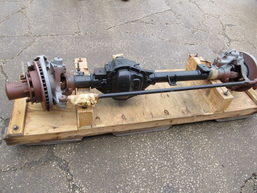 Dana 60 Front Steer Axle Assembly 4.56 Ratio 8 Lug Disc ...