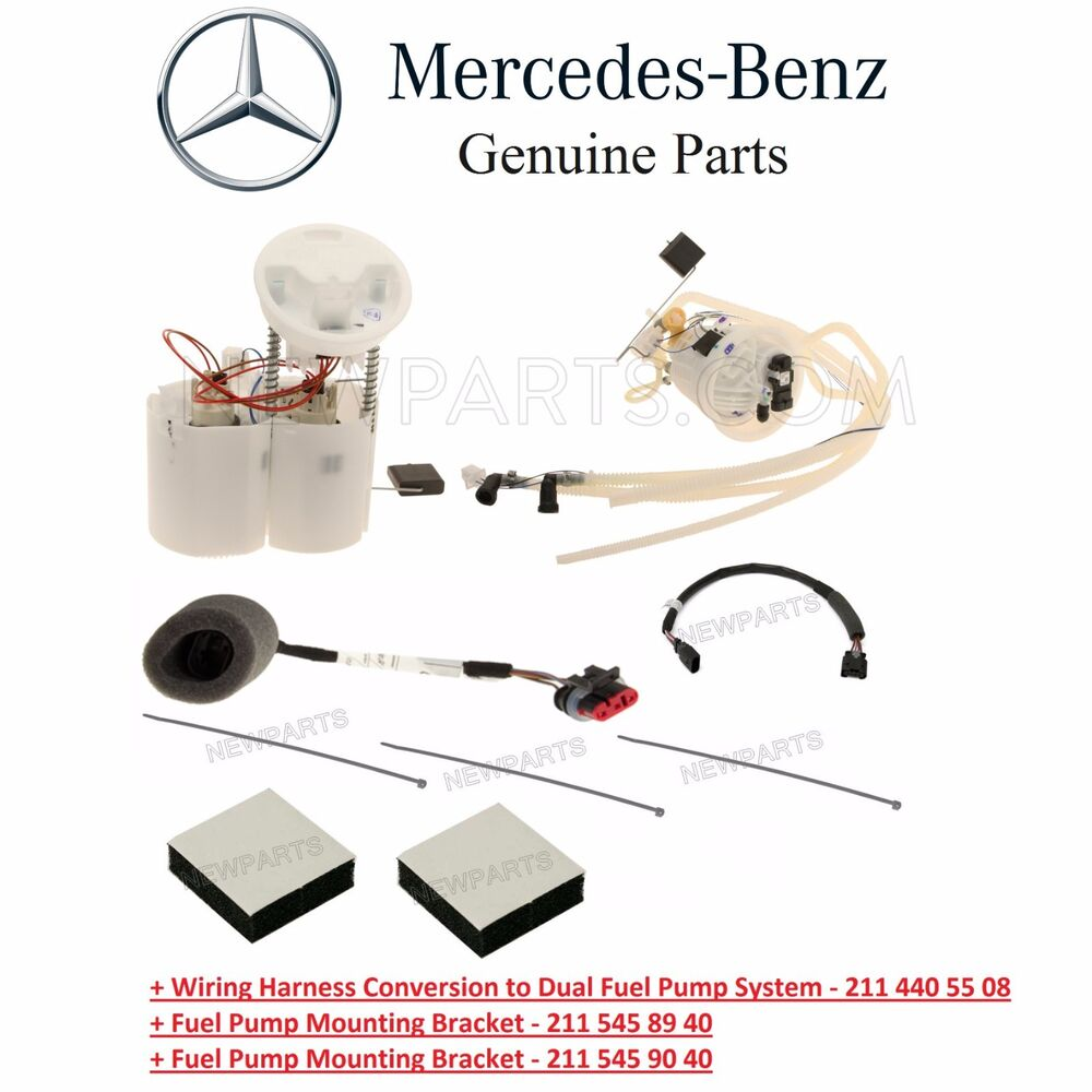 Mercedes W219 W211 Super Fuel Pump Assies Level Sending Unit Cable Harness Kit