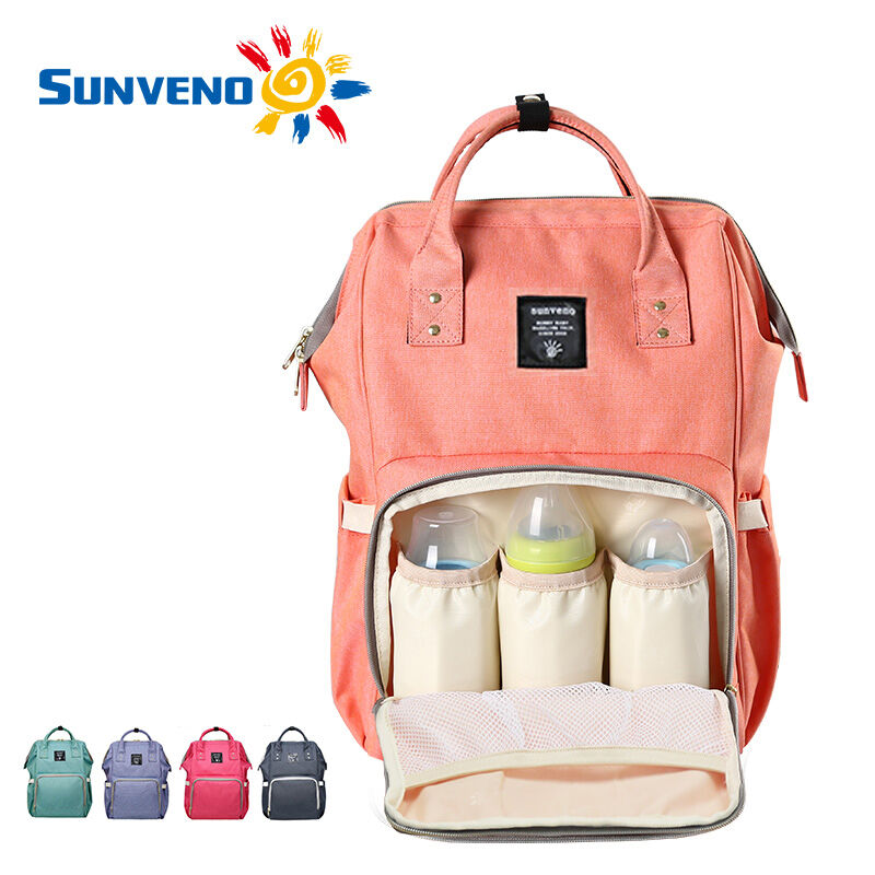 Sunveno Multifunctional Baby Diaper Backpack Mommy Ny Changing Bag