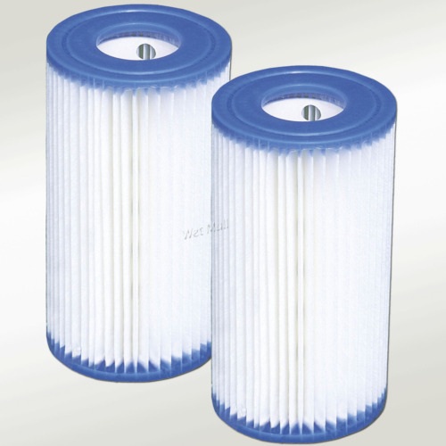 2 pack intex type a filter cartridge for above ground - Swimming pool cartridge filters pump ...