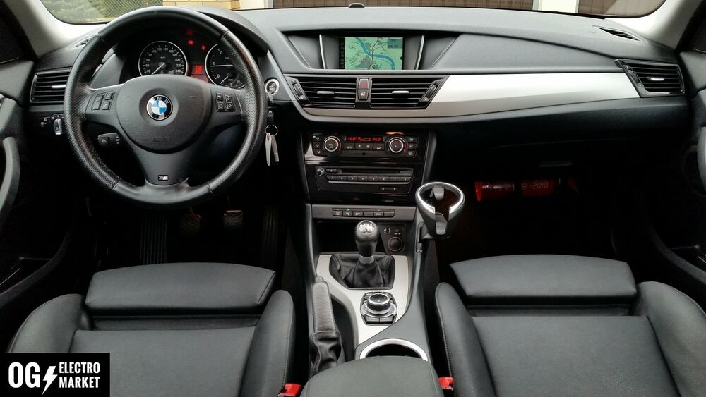 bmw x1 e84 gps navigation system set radio sat nav cic mid business ebay. Black Bedroom Furniture Sets. Home Design Ideas