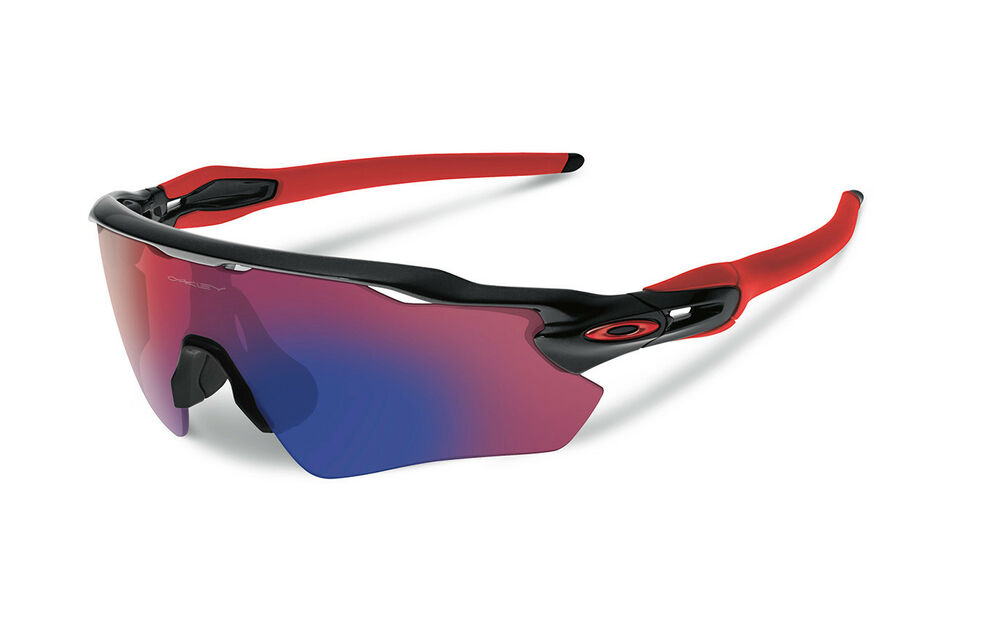NEW Oakley - Radar EV Path - Polished Black   Positive Red Iridium, OO9208- 21 888392169372   eBay 86cbbf689515