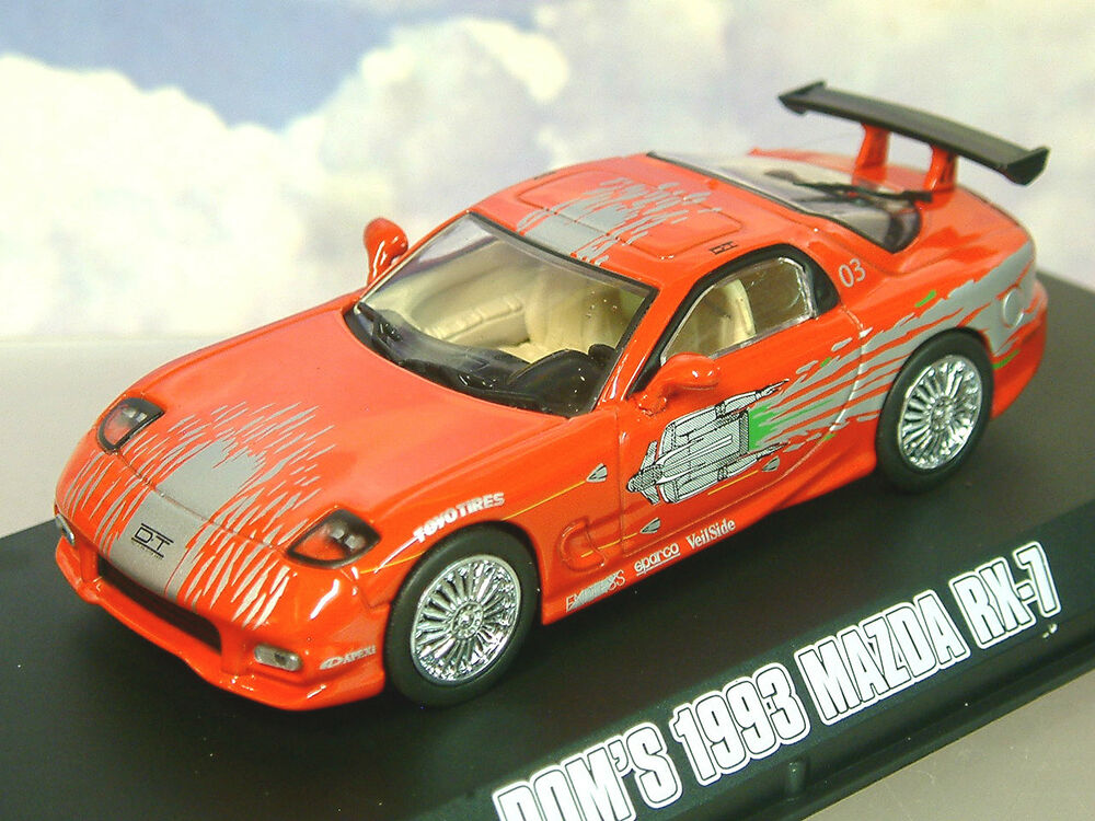 mazda rx7 fast and furious 6. greenlight diecast 143 domu0027s 1993 mazda rx7 red the fast u0026 furious 86204 mazda rx7 fast and furious 6