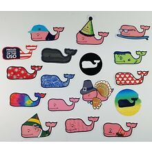 Vineyard Vines Variety of Whale Stickers *NEW STYLES ADDED*