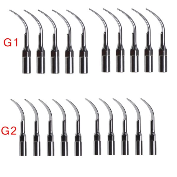 20pc Dentista Tips INSERTI / PUNTE PER ABLATORE EMS/WOODPECKER G1 G2 Ros6