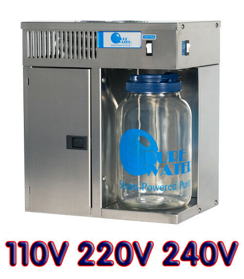 Mini Classic Ct Mc3 Pure Water Distiller Stainless Steel