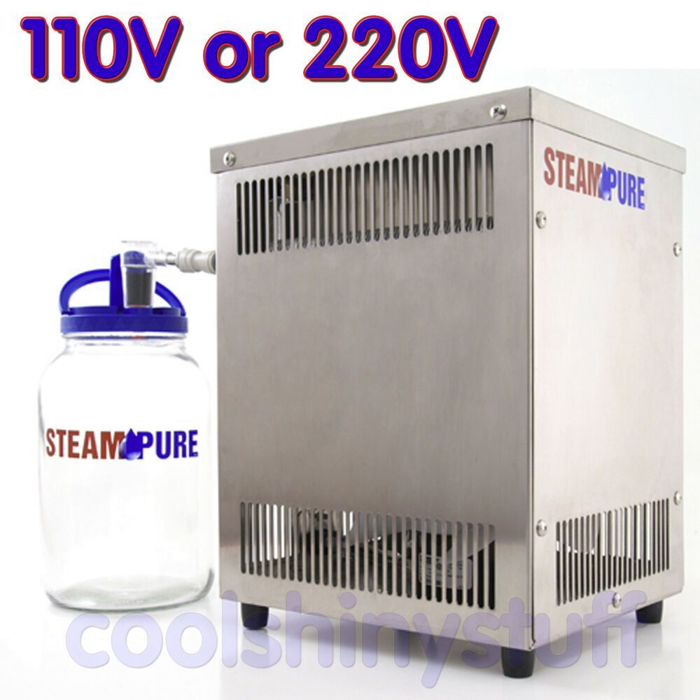 Steampure Pd Stainless Steel Counter Top Pure Water