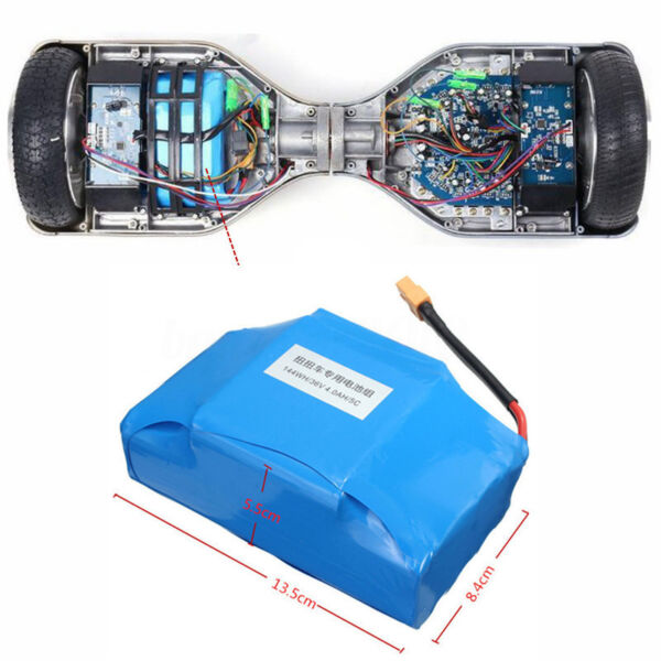 36V Batterie Pour 6'' 8'' 10'' Hoverboard Equilibrage 2 Roues Monocycle Scooter