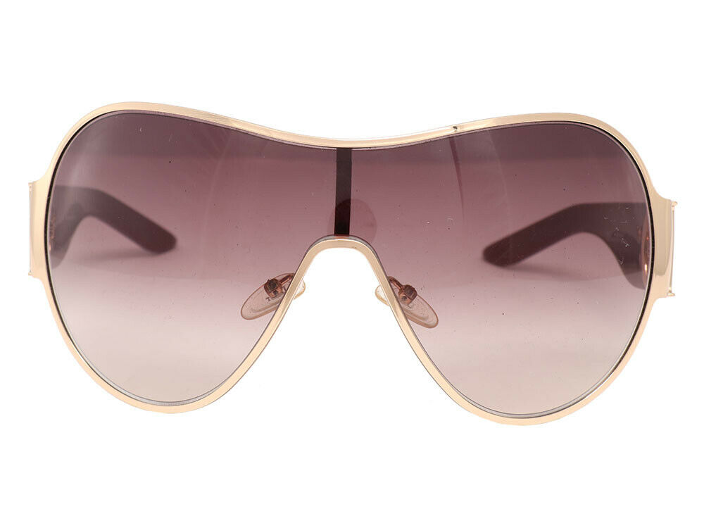 96a4eb2dfd648 Details about CHRISTIAN DIOR Red I Love Dior Shield Sunglasses ~ Oversized  graduated glam!