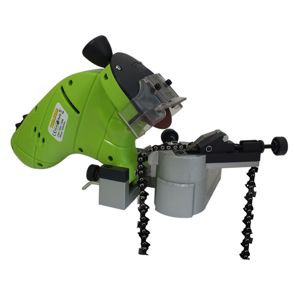 130w Electric Chainsaw Blade Sharpener Bench Mounted Chain