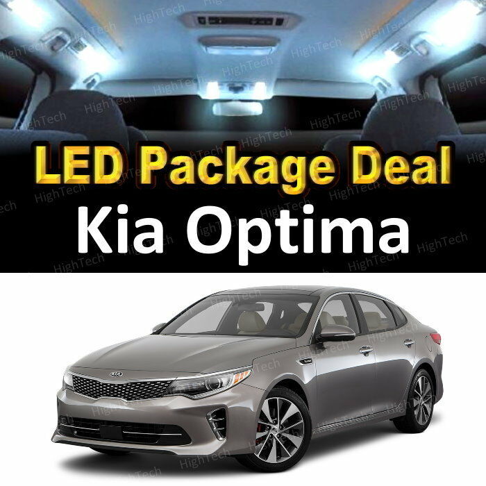 Details About 9x White Led Lights Interior Package Deal For 2017 2016 Kia Optima