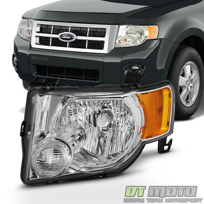 2008 2009 2010 2011 2012 Ford Escape Headlight Headlamp Replacement Driver Side