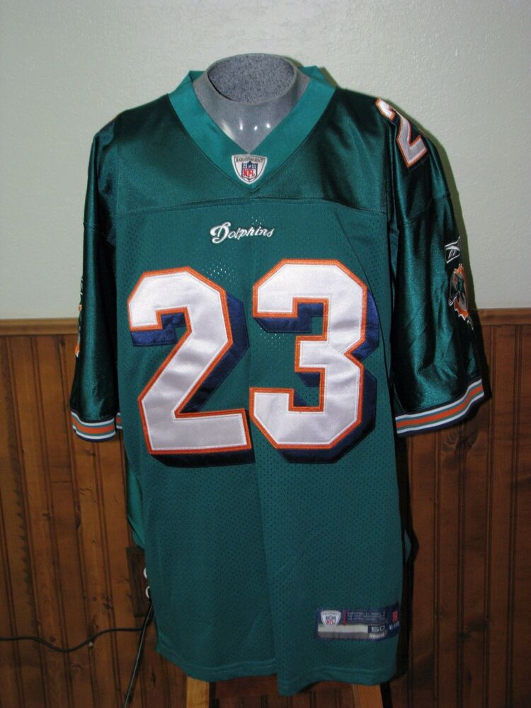 cdee6be51 Dolphins jersey  23 Brown size 50 jersey NFL Onfield Reebok Orig. 179
