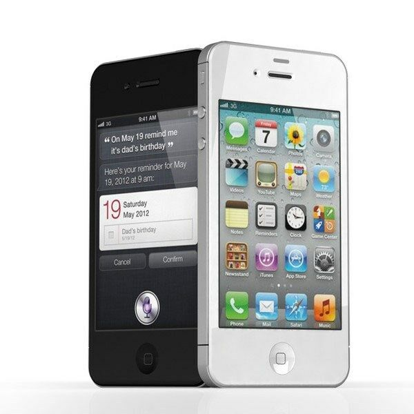 Apple iPhone 4 8GB Verizon Wireless Black and White ...