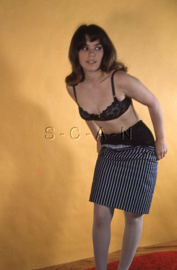 Vintage Amateur Semi Nude 1950S-60S 35Mm Slide  Negative -7227