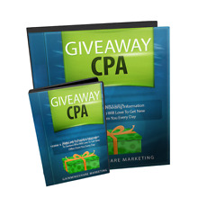 Giveaway CPA- How to Get Paid Giving Things Away-  Videos on 1 CD