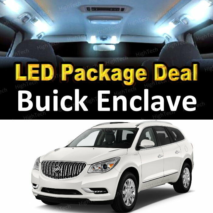 The 2016 Buick Enclave For Sale In Plainfield In: 17x White LED Lights Interior Package Deal For 2008