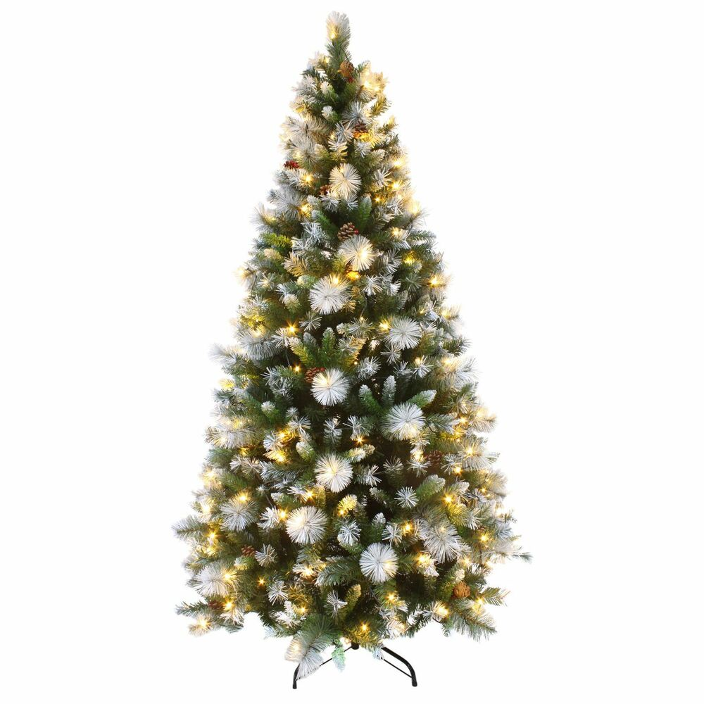 Luxurious Christmas Trees: Luxury Pre Lit Decorated Artificial Christmas Tree LED