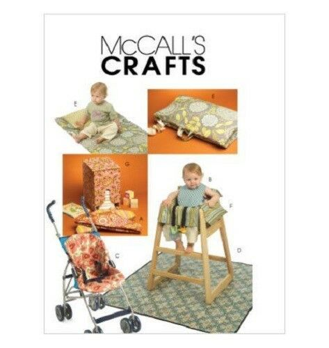 Mccalls Sewing Pattern 5604 Baby High Chair Stoller Cover Nappy