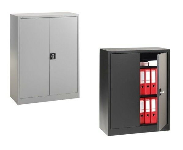 ab 125 stk stahlschrank aktenschrank 1200x930x420 inkl 2 einlegeb den ebay. Black Bedroom Furniture Sets. Home Design Ideas