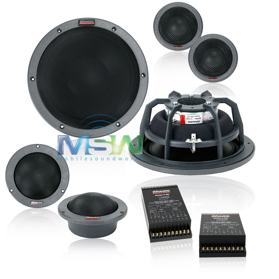 dynaudio esotec system 362 8 3 way car audio component. Black Bedroom Furniture Sets. Home Design Ideas