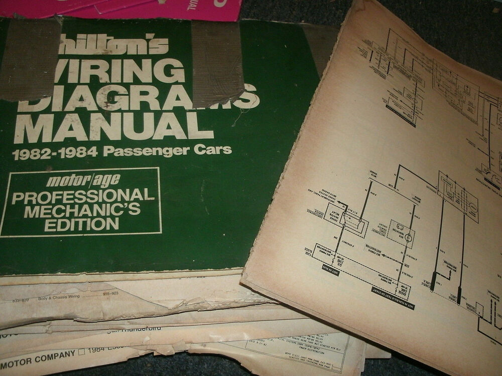 Details About 1982 Buick Lesabre Electra Regal Riviera Oversized Wiring Diagrams Sheets Set