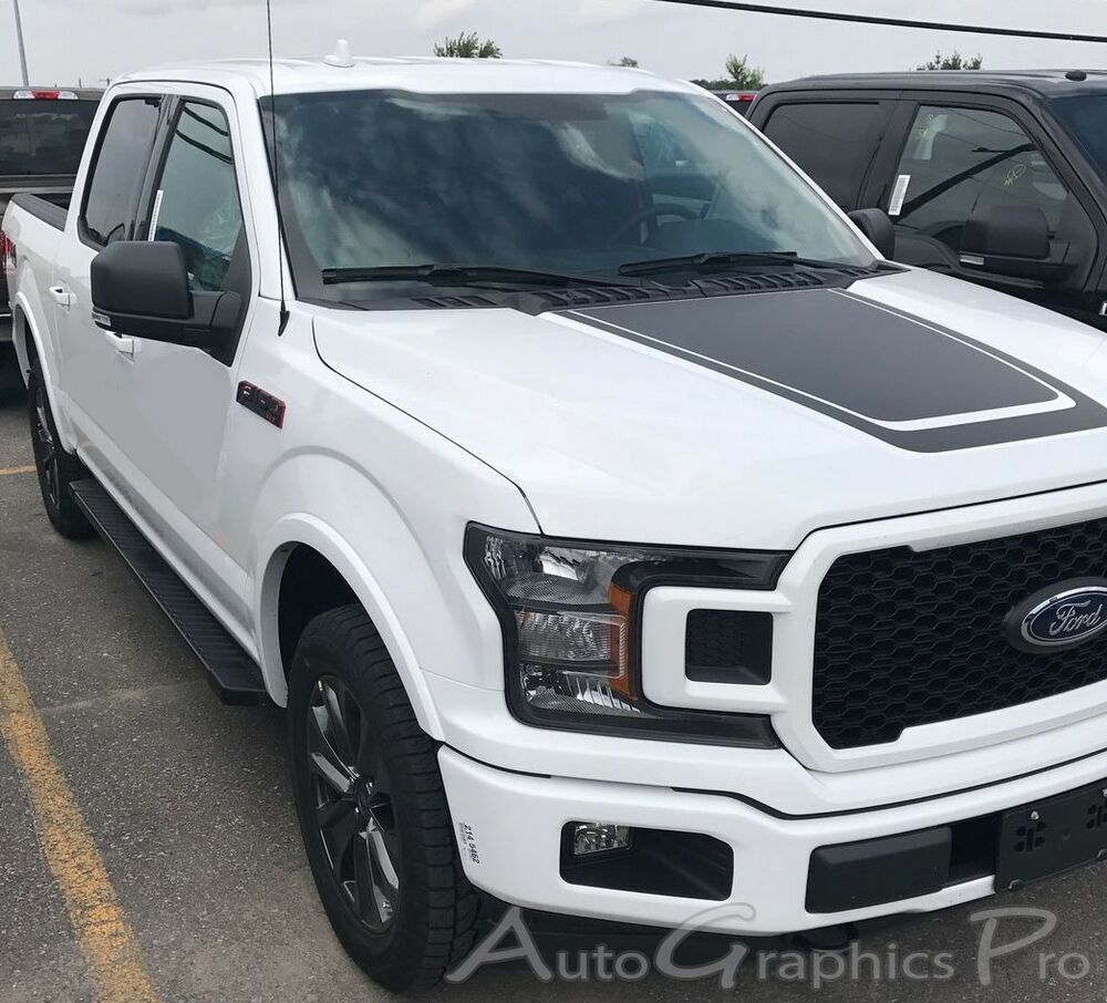 2015-2018 Ford F-150 Hood Stripes Special Ed. LEAD FOOT 3M Decals Vinyl Graphics | eBay
