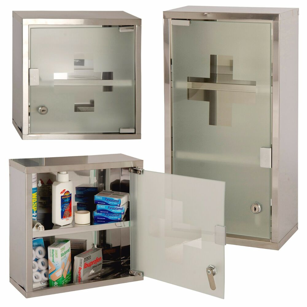 lockable bathroom cabinets wall mounted lockable stainless steel medicine cabinet 13518
