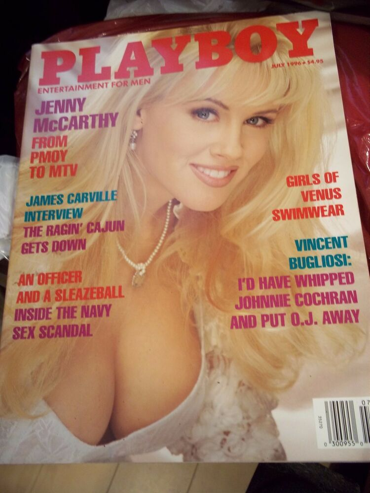 Details about VINTAGE PLAYBOY MAGAZINE JULY 1996 JAMES CARVILLE JENNY  McCARTHY