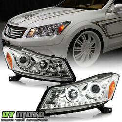 Kyпить For 2008-2012 Honda Accord Sedan Projector Headlights w/LED DRL Running Lights на еВаy.соm