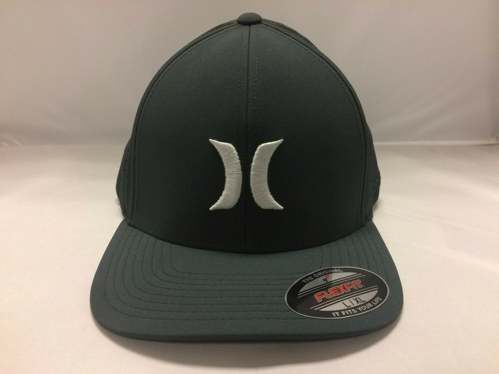 Details about Hurley Men s Flex Fitted Hat