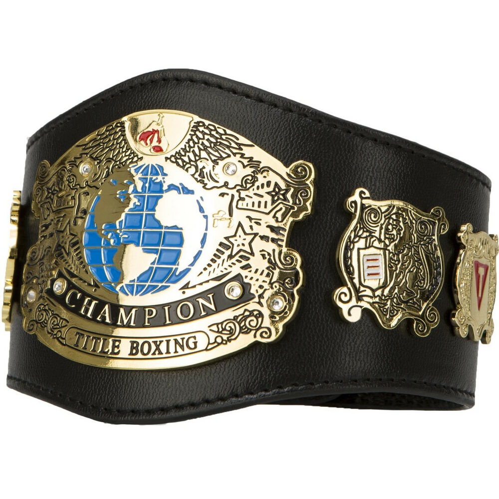 Title Boxing Undisputed Champion Leather Novelty Mini ...
