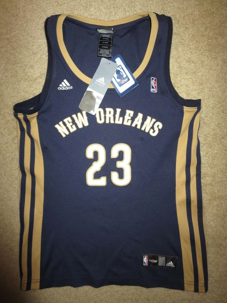 47c452ea6 Anthony Davis  23 New Orleans Pelicans adidas NBA Jersey Womens S SM NEW