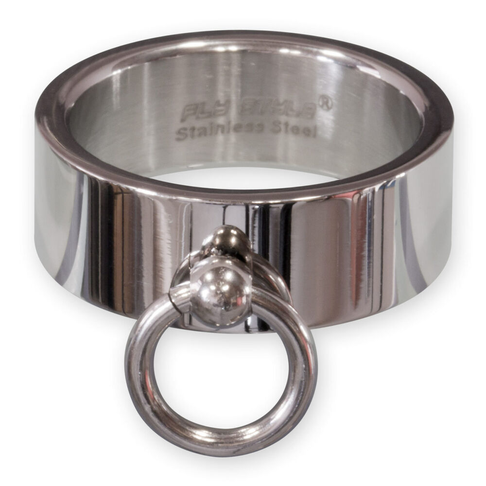 Details about Ring of O Stainless Steel Ring Slave Ring Mens Ladies BDSM  Jewelry Silver