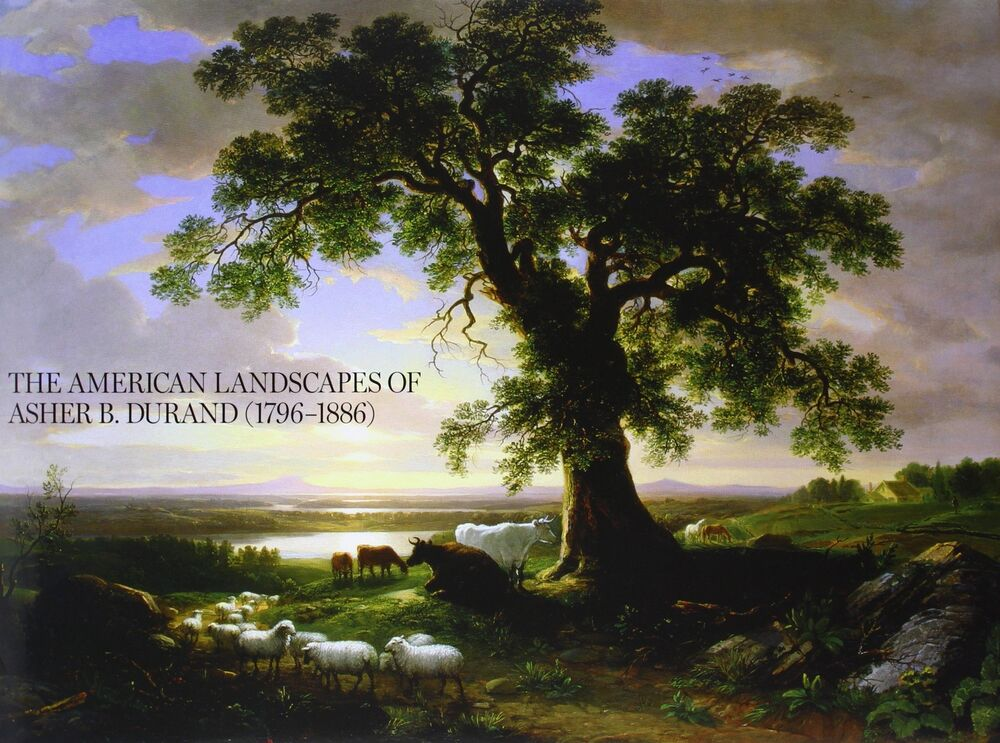 Details About Handmade Oil Painting Repro Asher Brown Durand The Solitary Oak