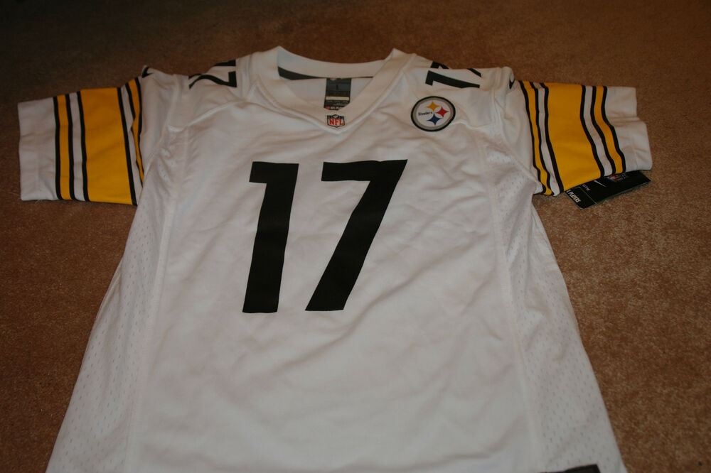 ac52bbebb70 NWT Pittsburg Steelers Nike NFL Jersey Size Youth L Wallace  17