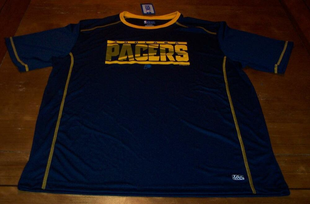 a714e139efbbb INDIANA PACERS NBA BASKETBALL TX3 COOL JERSEY 2XL XXL NEW w/ TAG | eBay