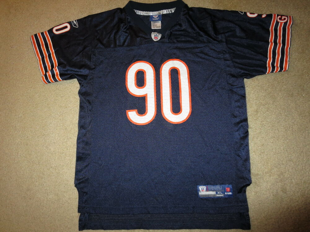 cdc5e32f2 Julius Peppers  90 Chicago Bears NFL Reebok Jersey Youth XL 18-20