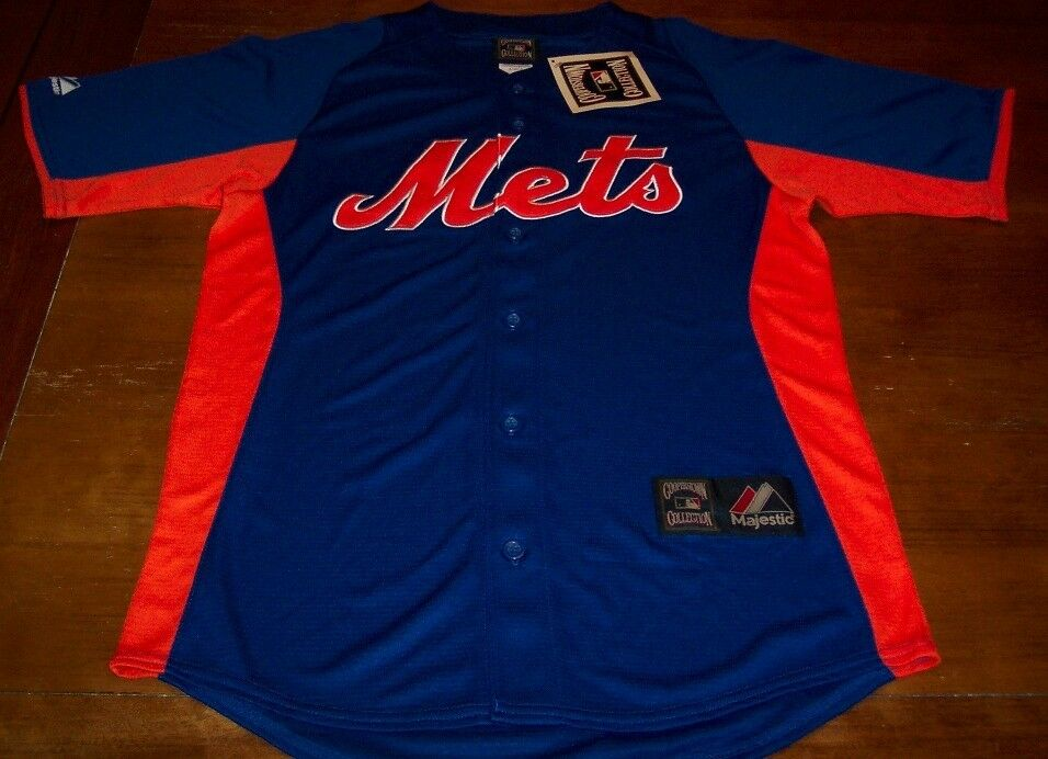 81ebe6cad VINTAGE STYLE NEW YORK METS MLB BASEBALL STITCHED JERSEY SMALL NEW W  TAG