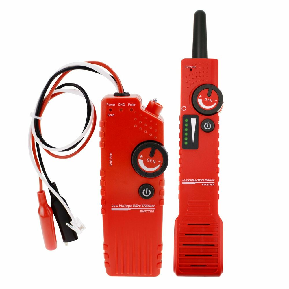 Wire Locator Detector : Anti jamming underground cable tracker detector tester low