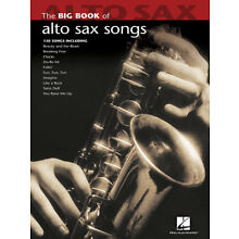 Big Book of Alto Sax Songs Sheet Music Saxophone 130 Pop Solos Hal Leonard NEW