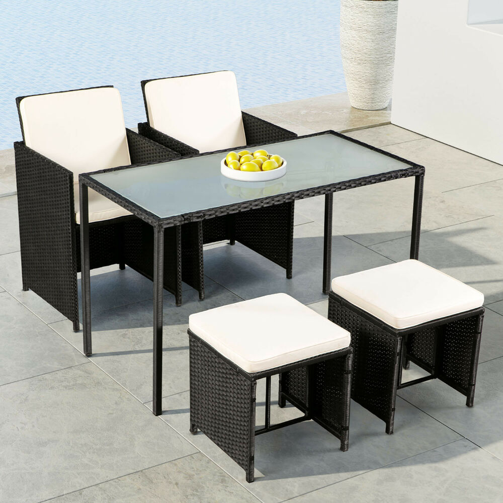 polyrattan gartenm bel cube essgruppe sitzgruppe rattan gartenset lounge artlife 4260304769829. Black Bedroom Furniture Sets. Home Design Ideas