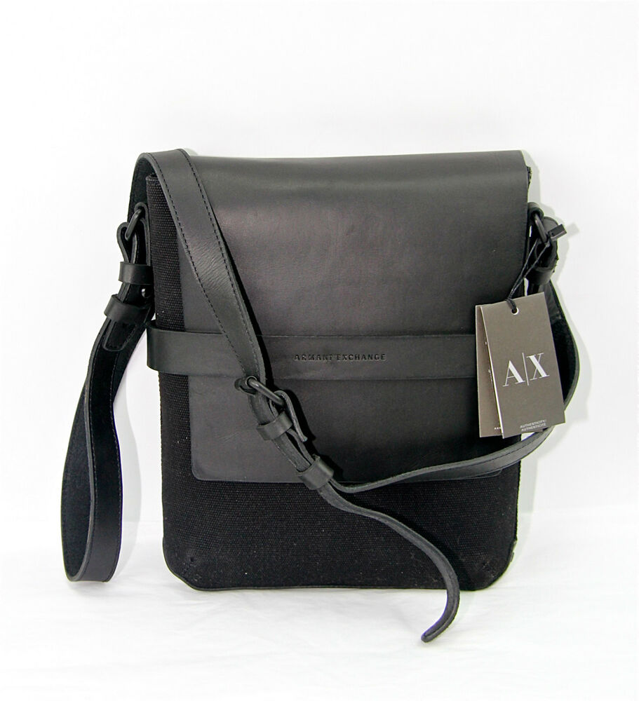 A X Armani Exchange Messenger Crossbody Side Bag Pouch Satchel 100 New Ebay