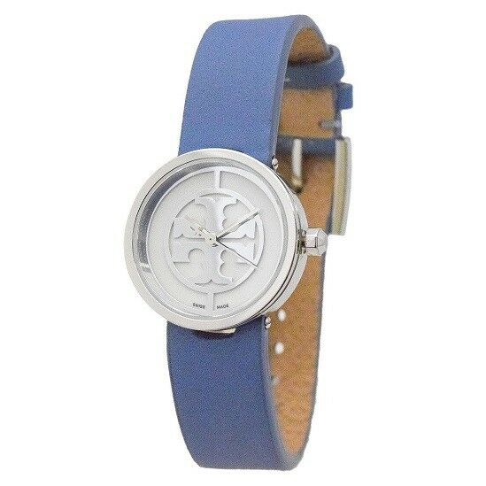 90b511738 Details about Women's Reva Leather Watch by Tory Burch BLUE 247668 TRB4006