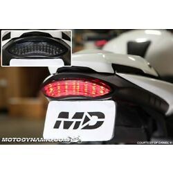 fits 11-20 Triumph Speed Triple R S RS SEQUENTIAL Signal LED Tail Light Smoked